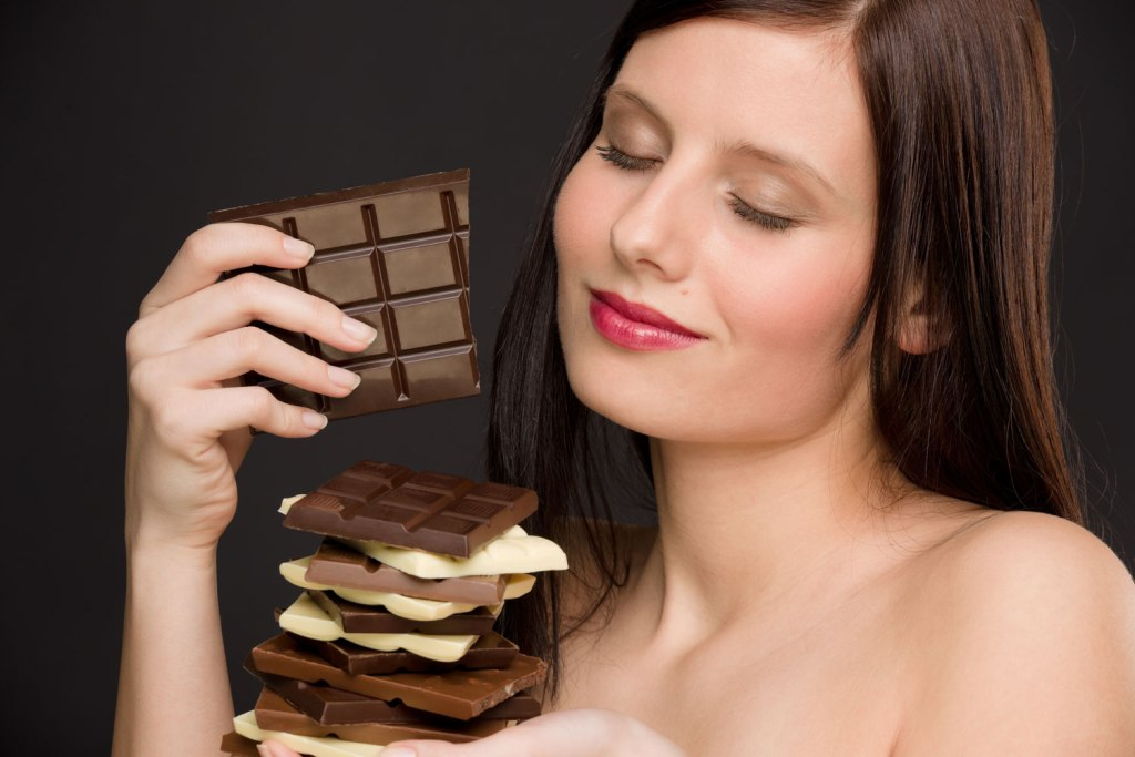 Картинки я ем шоколадки